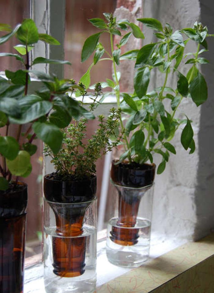 Copper Herb Garden // Homemade Modern