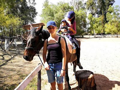 Foto de Anna durante su voluntariado en Bolivia.