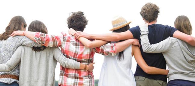 Los 6 amigos que necesitas y los 3 que no