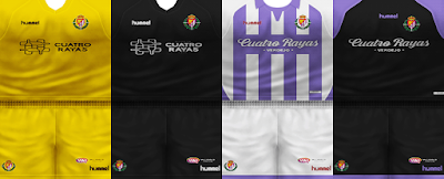 PES 6 Kits Real Valladolid SAD Season 2018/2019 by VillaPilla