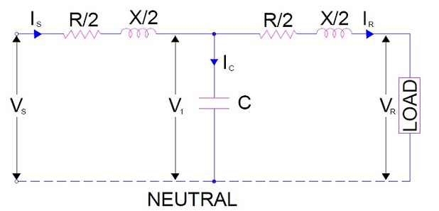 Nominal t and nominal model of transmission line electrical concepts nominal t method ccuart Choice Image