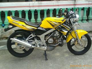Dijual Kawasaki Ninja SS ( Super Sai'a ) .