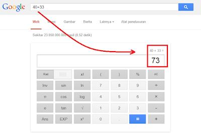 """Kalkulator Google"""