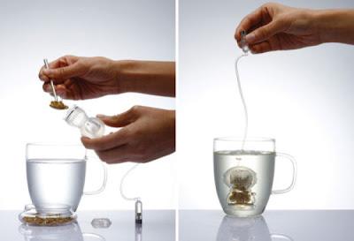 Porta té o aromatica