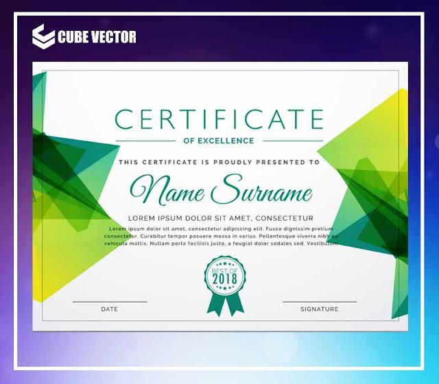 Desain Sertifikat Penghargaan Untuk Seminar Gratis Download