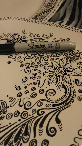 Doodling In Mind Fire Sharpies