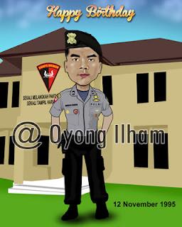 Karikatur Polisi