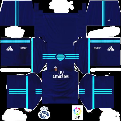 hot sale online 9695f 12893 Kits Dream League Soccer 2015: Real Madrid CF