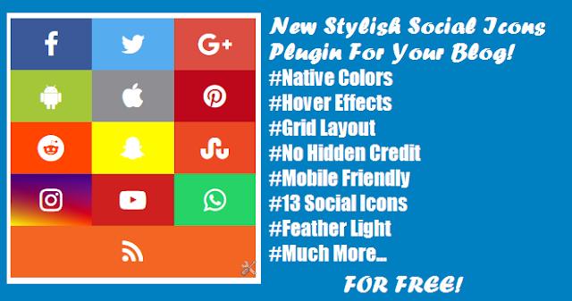 Social Icons Plugin