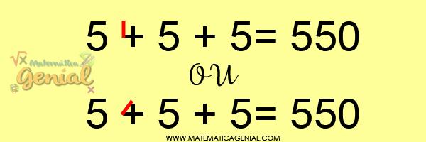 Como tornar essa equação verdadeira apenas desenhando uma linha reta?