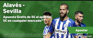 betway promocion Alavés vs Sevilla 2 diciembre
