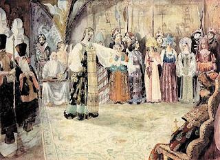 На смотрины для третьей женитьбы Ивана Грозного свезли уже более 2 тысяч невест