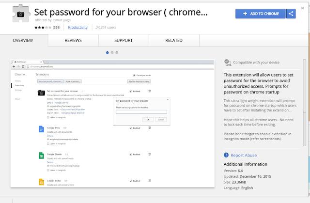 password-for-chrome