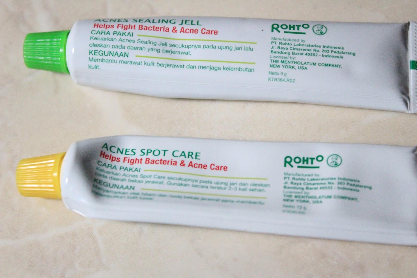 cara pakai mentholatum acnes sealing