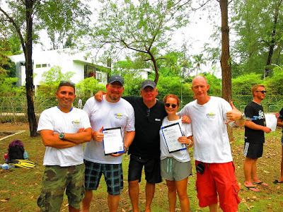 PADI IE on Phuket, Thailand for May 2016 was very successful