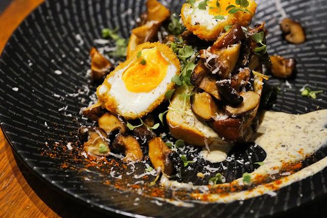 Mixed Wild Mushroom Bruschetta