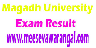Magadh University Pre Phd -2016 Results