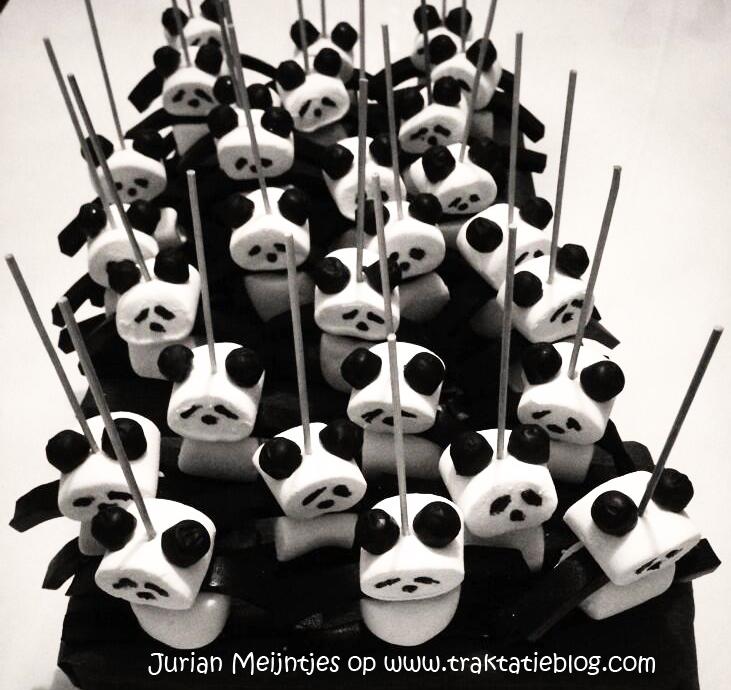 Zeer Traktatie idee: Panda traktatie OA45