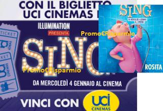 Logo Con ''Sing'' vinci abbonamenti Spotify e viaggio per tutta la famiglia