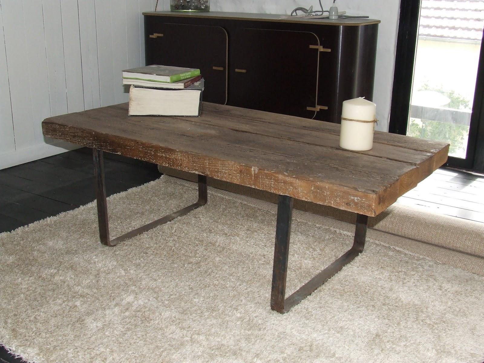 ferronnerie le fur table basse ossature m tallique. Black Bedroom Furniture Sets. Home Design Ideas