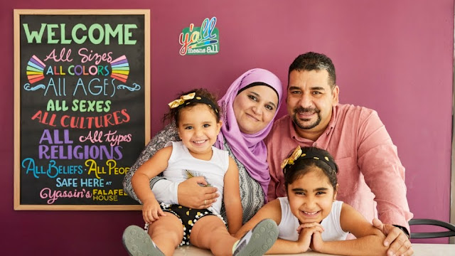 Refugee Family Making America Great