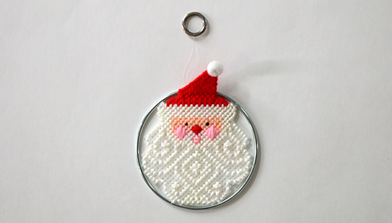 Santa Claus Decoration from Canvas Capers Kit by Leisure Arts
