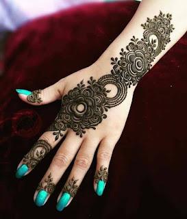 mehndi design arabic