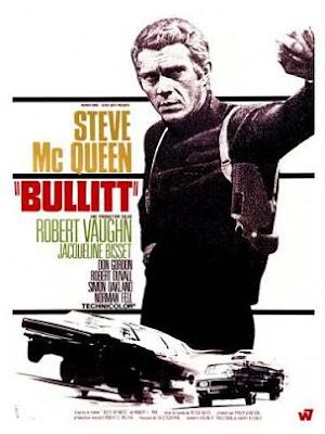 Original poster for Bullitt