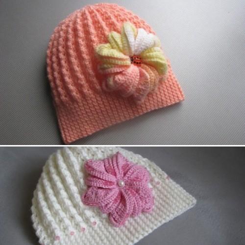 Floral Hat - Free Pattern