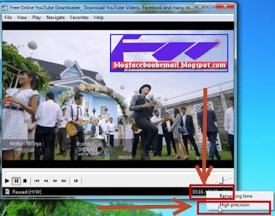 cara menampilkan durasi video dalam milisecond