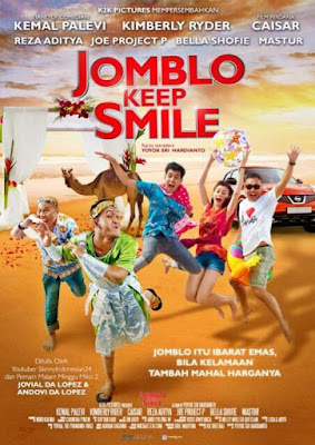 Poster Film Jomblo Keep Smile