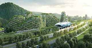 Η Κίνα δημιουργεί την πρώτη «πόλη-δάσος» για να αντιμετωπίσει την υπερθέρμανση του πλανήτη και την ατμοσφαιρική ρύπανση