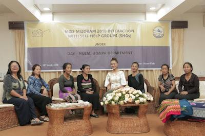 Miss Mizoram 2018 leh Self Help Group aiawhte inkawm