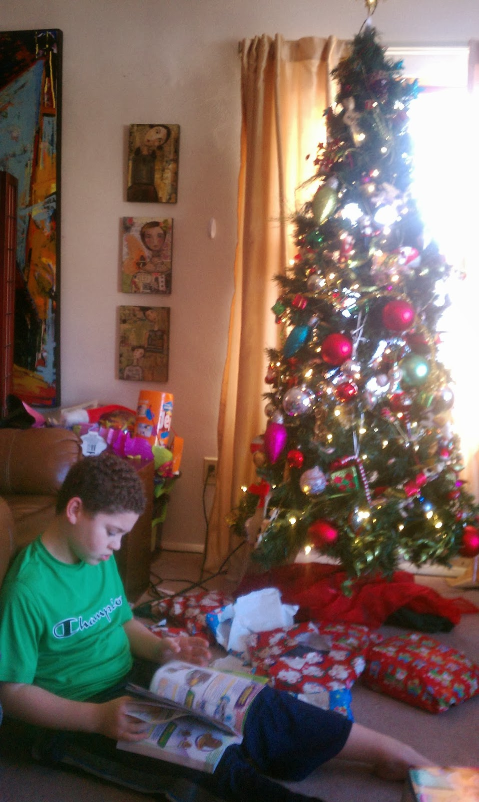 Some Pictures From Christmas 2013 --How Did I Get Here? My Amazing Genealogy Journey