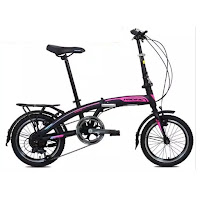 16 pacific 2980rx-v folding bike