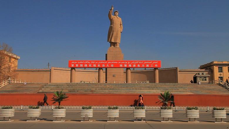 Sulitnya Meliput Kamp Rahasia Muslim di China