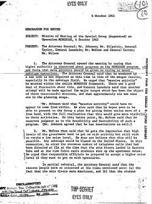 "Declassified ""Operation Mongoose"" Document on the Covert War Against Cuba (1962)"