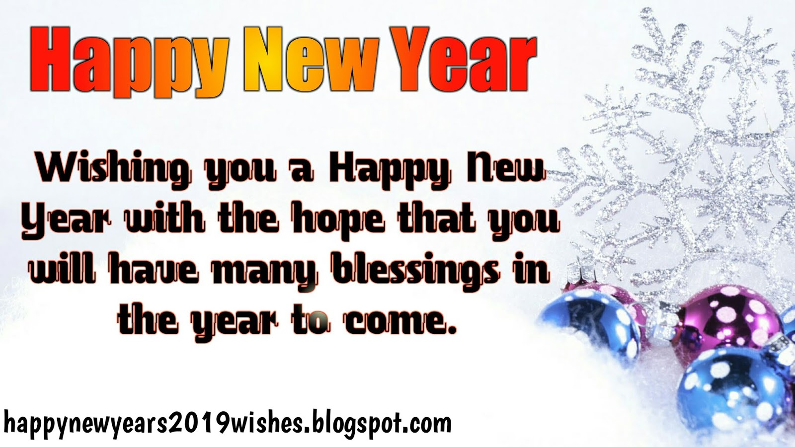 Happy New Year Images 2019 | Happy New Year 2019 Images HD - Happy ...