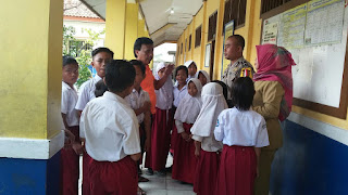 Aiptu Solychan, Sambangi Tokoh Masyarakat, Alim Ulama, dan Sekolah Berikan Pesan Kamtibmas