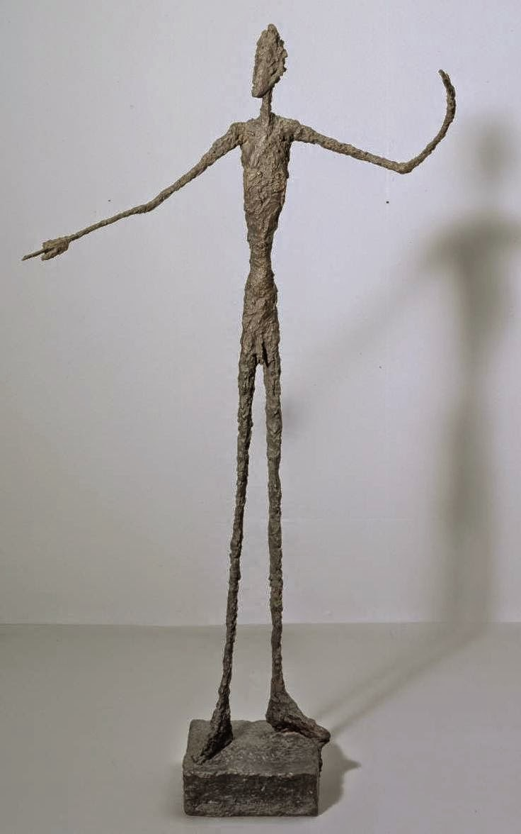 study of alberto giacometti Alberto giacometti is a famous swiss artist who worked in several mediums  later, he went to geneva, switzerland, where he studied sculpture at the school .
