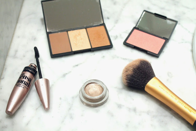 my top 5 drugstore makeup products, sleek, Real techniques, Maybelline