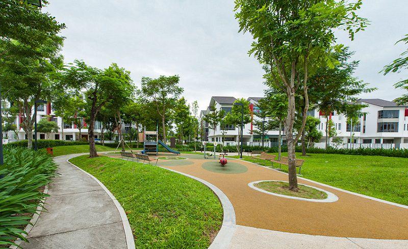 Biệt thự song lập Gamuda Gardens giai đoạn 1