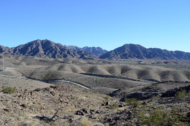 Gila Mountains south of I-8