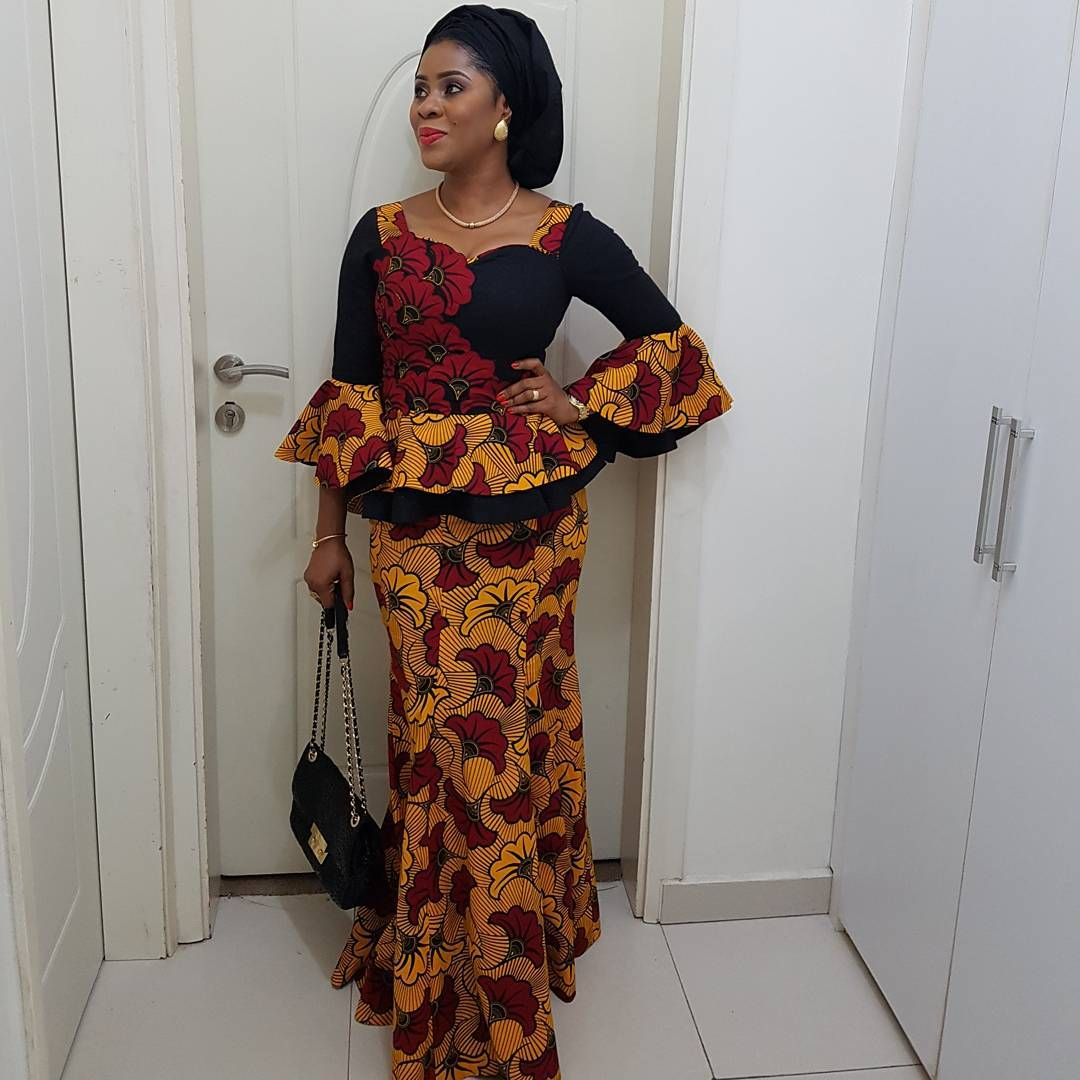 See These Pictures Of Latest Ankara Peplum Styles In 2018