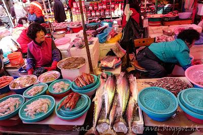 釜山機張市場