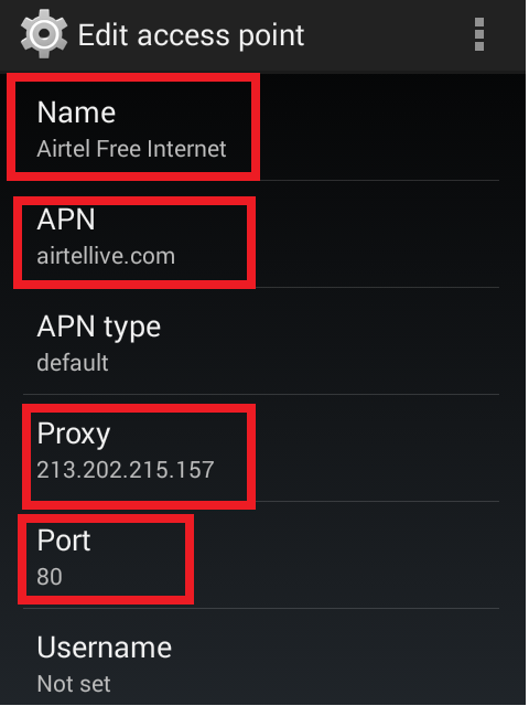 Best proxy for airtel 3g