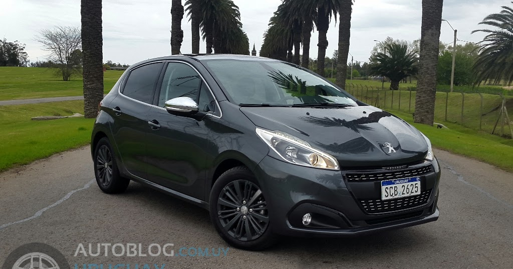 prueba peugeot new 208 1 2 puretech 110 allure bvm5 autoblog uruguay. Black Bedroom Furniture Sets. Home Design Ideas