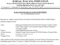 LoA Jurnal Wacana Pertanian