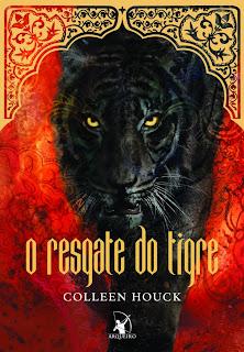"""News: Capa do livro """"Tiger's Destiny"""", da autora Colleen Houck. 10"""