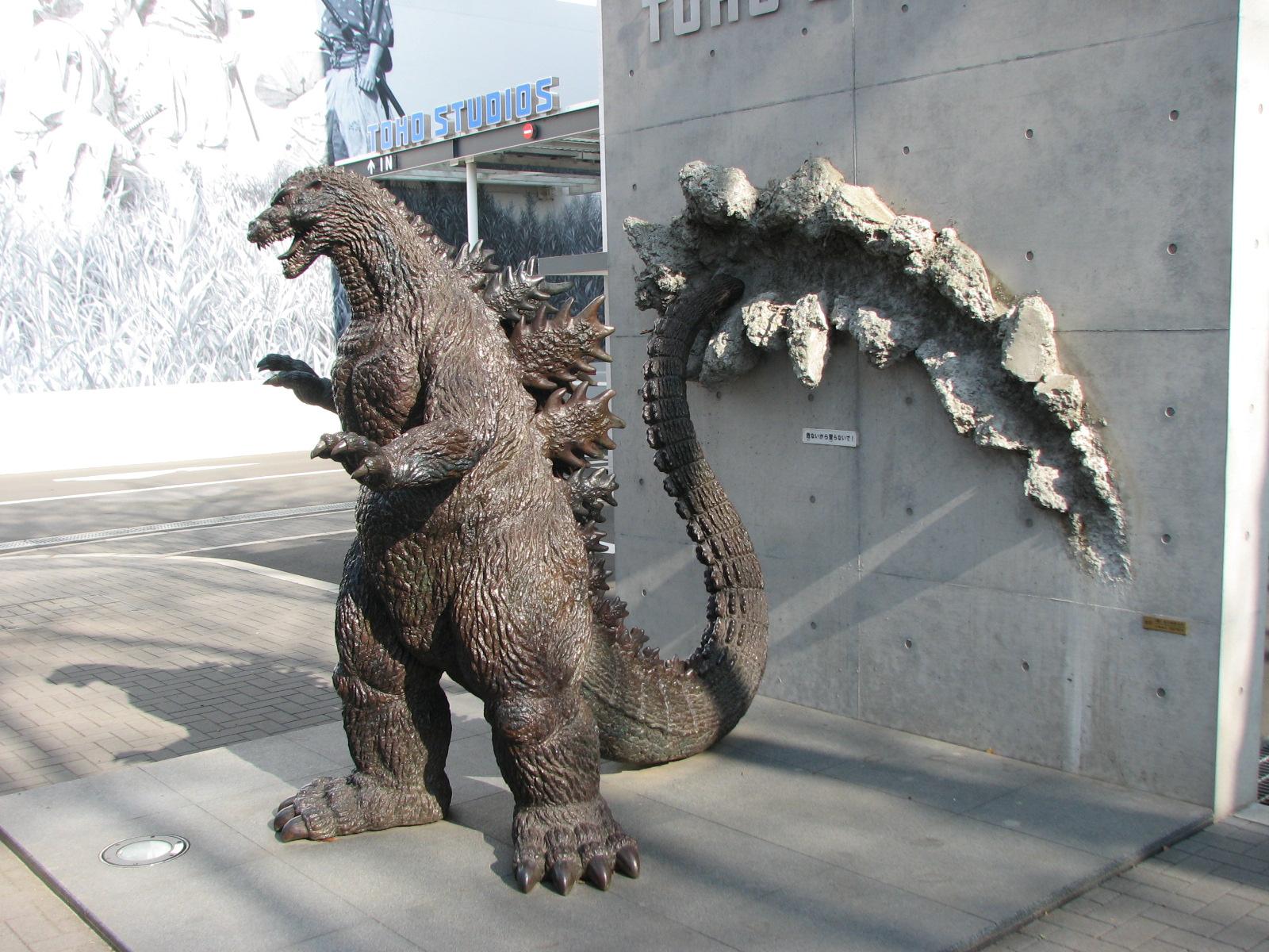 godzilla 1989 statue - HD1600×1200